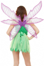Wings & Wishes Pixie Fairy Purple Glitter Wings